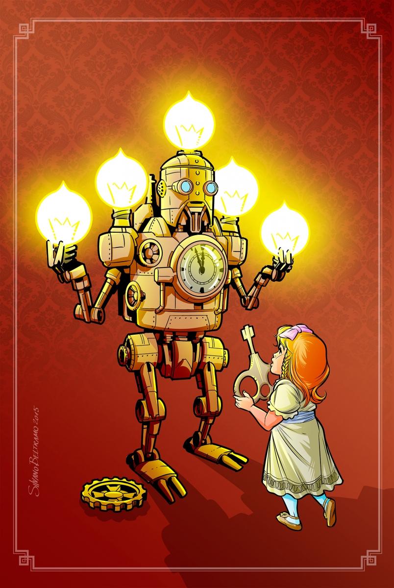 Illustrazione-Natale-Steampunk---Silvano-Beltramo