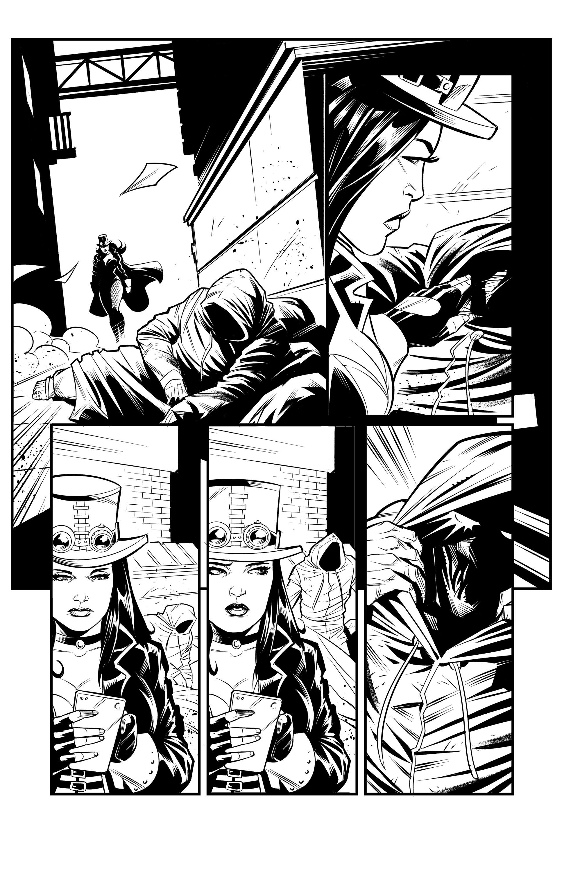 Zenescope - Van Helsing Test Pages - Silvano Beltramo Art